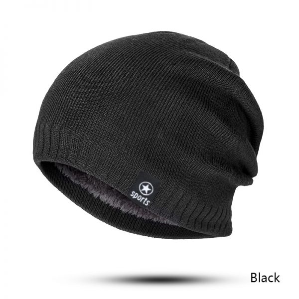 MLTBB Women Winter Hat Men Solid Color Knitting Beanies Hats Thick Warm Comfortable Skullcap Outdoor Cotton Ski Skullies Bonnet