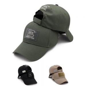 New 2021 Tactical GLOCK Shooting Sports Baseball Cap Fishing Caps Men Outdoor Hunting Jungle Hat Airsoft Hiking Casquette Hats